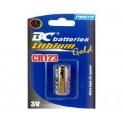 1 buc Baterie cu litiu CR123 GOLD 3V