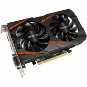 GIGABYTE Video Card AMD Radeon RX550 GAMING OC GDDR5 2GB/128bit, 1206MHz/7000MHz, PCI-E 3.0, DP, HDMI, DVI-D, WINDFORCE 2X CoolerDouble Slot, Retail GV-RX550GAMING_OC-2GD