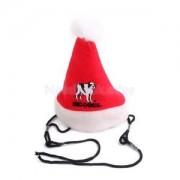 Alcoa Prime Christmas Santa Xmas Pet Cat Dog Christmas Costume Holiday Hat Size Large