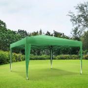 Jarolift Structure de tonnelle avec toit Premium, 3x3 m, Vert