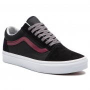 Teniși VANS - Old Skool VN0A38G1UNI1 (Jersey Lace) Black/Port