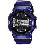 Casio G-Shock Analog-Digital Blue Dial Mens Watch - GBA-400-2ADR (G558)