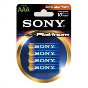 Battery, Sony Alkaline R03 Stamina Platinum 4 pcs blister AAA (AM4PTB4D)