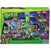 Mega Bloks DMX55 Teenage Mutant Ninja Turtles - Turtle Sewer Lair 342 Piece