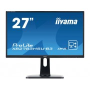 Iiyama XB2783HSU-B3 LED-monitor 68.6 cm (27 inch) Energielabel B (A+ - F) 1920 x 1080 pix Full HD 4 ms HDMI, DisplayPort, VGA, USB 2.0, Hoofdtelefoon (3.5 mm