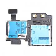 Leitor de Cartão SIM/Micro SD para Samsung Galaxy S4 i9500, I9505, I9506