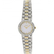 Citizen Eco-Drive Analog White Dial Womens Watch - Ew9824-53A