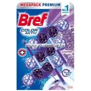 Bref Color Aktiv Lavender WC-frissítő 3x50g