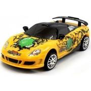 Webby Remote Control Porsche Carrera Gt Graffiti Drift Car with Spare Tires