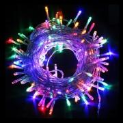 Instalatii Luminoase Craciun Rola 40m 500LED Multicolor Jocuri FI 6002