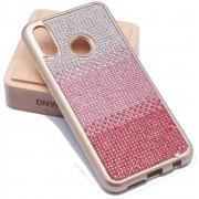 Teleplus Huaweı P20 Lite Matte Laser Silicone Case Pink hoesje