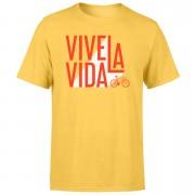 Vive La Vida Men's Yellow T-Shirt - S - Yellow