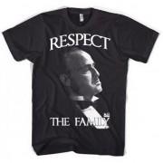 Merkloos Katoenen Respect the Family shirts