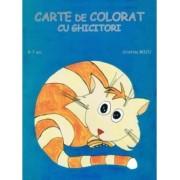 Carte de Colorat cu Ghicitori pentru copii