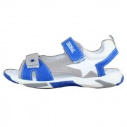 Sandale piele naturala copii - alb, gri, albastru, Melania - ME6017F9E-B