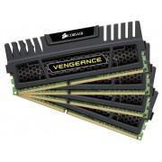 Corsair PC-werkgeheugen kit Vengeance CMZ32GX3M4X1600C10 32 GB 4 x 8 GB DDR3-RAM 1600 MHz CL10 10-10-27