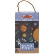 Primul meu puzzle eco din carton Spatiul