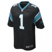 Мужское джерси для американского футбола для игры на своем поле NFL Carolina Panthers (Cam Newton)