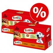 Икономична опаковка: 2 x 7,5 кг Frolic храна за кучета - Микс: с говеждо / с птиче месо