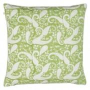 Cushion cover - Inverted Priya - Light green