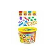 Massinha Play-Doh Mini Balde Amarelo Praia 23414 Hasbro