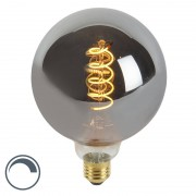 Calex LED filament E27 G125 4W 100 lumen warm wit 2100K dimbaar