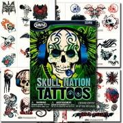 Savvi Skull Nation Tattoos - 39 Tattoos ~ Skulls