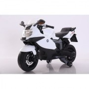Baby Battery Operated BMW BIKE (WHITE) With Original Music System For Kids