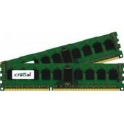 Kit Memorie Server Crucial ECC UDIMM DDR3 2x8GB 1600MHz CL11 Dual Rank x8 Low-Voltage