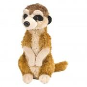 Wild Republic Stokstaartjes speelgoed artikelen stokstaartje knuffelbeest bruin 20 cm