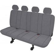 Husă banchetă 4 scaune XXL, poliester, gri, HP Autozubehör