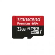 32GB Micro SD memorijska kartica Class 10 UHS-1 Transcend TS32GUSDCU1