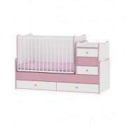 LORELLI krevetić maxi plus 70/160 white pink 10150300020