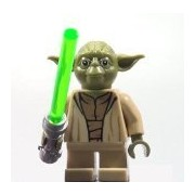 LEGO Yoda Star Wars minifigure - Yoda Chronicles Clone Wars 75017
