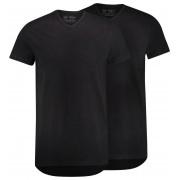 RJ Bodywear Ondermode 2Pack Everyday Gouda V-Hals T-Shirt Zwart / male