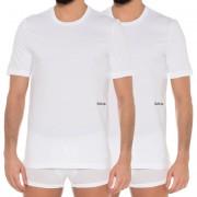 Calvin Klein Set tricou pentru bărbați S/S Crew Neck 2 buc White L