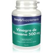 Simply Supplements Vinagre de Manzana 500 mg - 180 Cápsulas