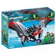 Playmobil Dragons III, Deathgripper si Grimmel