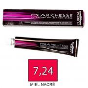 Loreal DIARICHESSE 7,24 Miel Nacre - tinte 50ml