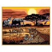 Pictura Pe Numere Safari African Ravensburger