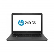 """LAPTOP HP NOTEBOOK 240 G6 14"""" INTEL N3060 4GB 500GB W10H 2XU55LA-negro"""