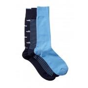 Cole Haan Stripe Shoe Crew Socks - Pack of 3 C60ASSTC6