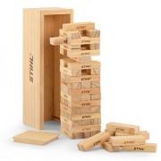 STIHL Zabawka gra wieża drewniana