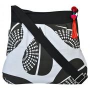 Pick Pocket Women's Sling Bag (Black,Slblkwts23)