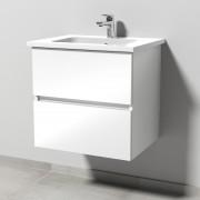 Sanipa Solo One Euphoria Waschtisch-Set 600mm, weiss glanz PS020-78