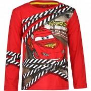 Disney Cars Lightning McQueen t-shirt rood