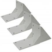3x Dachsparrenadapter für Kassetten-Markise T124, Dachsparren Halterung Adapter ~ Variantenangebot