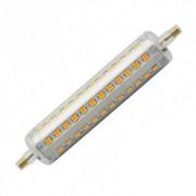 efectoled.com Pack Bombilla LED R7S Slim 118mm 10W (2 Un) Blanco Cálido 2700K