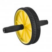 Колело за тренировка на коремните мускули 25 x 18 x 18 см - фитнес аксесоар