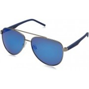 Polaroid Aviator Sunglasses(Blue)